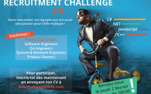 """Recrutement : KDS relance son opération """"Recruitment Challenge"""" le 2 février 2017"""