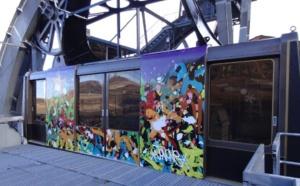 Le graffiti s'invite à Courchevel pour la 8e édition de l'Art au Sommet