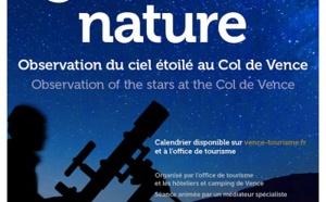 Côte d'Azur : la tête dans les étoiles au Col de Vence