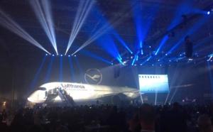 Lufthansa dévoile son premier Airbus A350-900