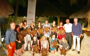 Ile Maurice : Chantal Bachelard (Courtine Voyages) remporte la Beachcomber Aventure 2017 !