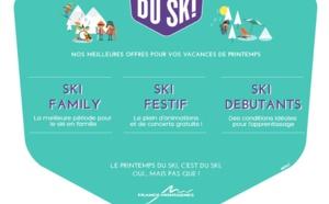 France Montagnes relance le Printemps du Ski !