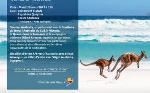 Tourism Australia en workshop à Bordeaux et Toulouse