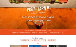 Tarn Tourisme lance une nouvelle version de son site Internet