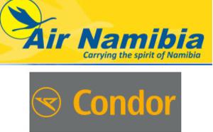 Condor et Air Namibia en code-share dès avril 2017