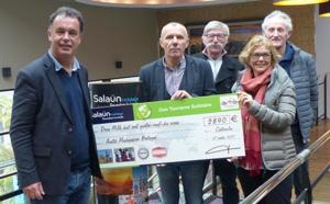 Tourisme solidaire : Salaün Holidays reverse 2 890€ à l'association Amitié Madagascar Bretagne