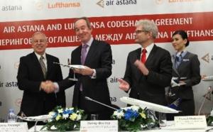 Air Astana et Lufthansa en partage de codes