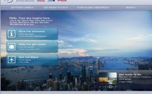 SkyTeam met en ligne un nouveau site web