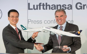 Cathay Pacific en code-share avec les compagnies du groupe Lufthansa