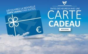 Air Austral lance une carte cadeau