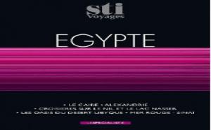 STI Voyages : early booking sur la production printemps/été Egypte