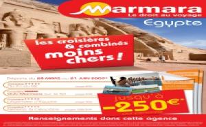 Marmara :  jusqu'à - 250 € sur l'Egypte