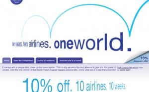 oneworld fête ses 10 ans et lance des offres spéciales