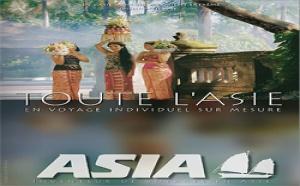 Asia lance le concept de villas à louer dans sa brochure ''Plages d'Asie''