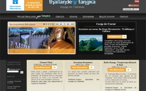 Tangka Voyages et Voyageurs Associés lancent un site dédié à la Thaïlande