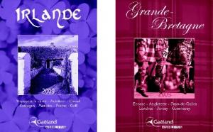 Gaéland Ashling : nouvelles brochures Irlande et Grande-Bretagne