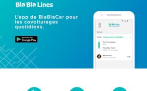 BlaBlaCar lance BlaBlaLines pour les trajets courte distance