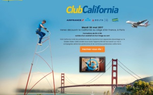 Visit California, Air France / Delta Airlines : formation le 30 mai à Paris