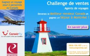 Empreinte lance un challenge de ventes ''Québec''