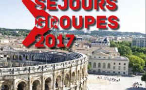 Nîmes : l'OT sort sa brochure groupes 2017