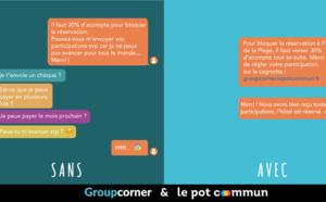 Groupes : Groupcorner s'allie à Le Pot Commun pour faciliter les paiements