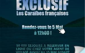 « partirauxcaraibes.fr » : 10 000 offres on line à prix plancher durant 10 jours !