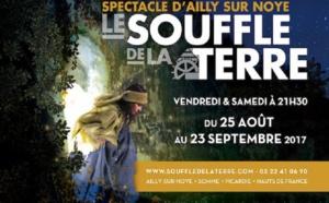 La Picardie accueille cet été la 31e édition du spectacle « Le Souffle de la Terre »