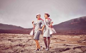 Air Austral : de nouveaux uniformes inspirés du Piton de la Fournaise