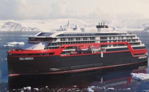 Hurtigruten lance son MS Roald Amundsen à l'assaut de l'Antarctique