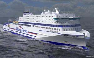 Brittany Ferries : nouveau navire, le Honfleur, en service en juin 2019