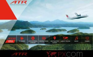 Salon du Bourget : PXCom présente la première vidéo 360° pour le divertissement en vol