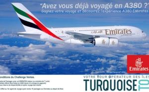 Challenge de ventes : Turquoise TO fait gagner 2 billets sur l'A380 d'Emirates