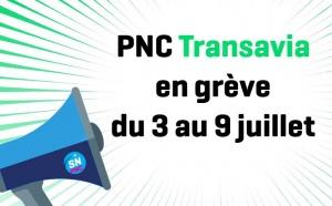 Transavia France : les PNC en grève du 3 au 9 juillet 2017