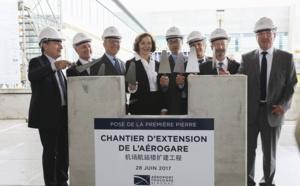 Extension Toulouse-Blagnac : première pierre posée le 28 juin 2017