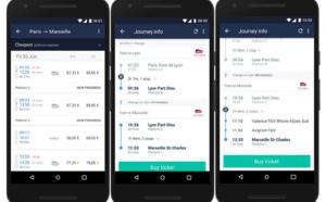 Trainline ajoute le suivi du trajet en temps réel à son application mobile