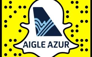 Communication digitale : Aigle Azur se lance sur Snapchat