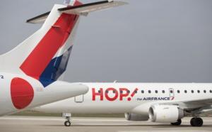 Grève HOP! Air France : 13% de vols annulés lundi 17 juillet et 15% mardi 18 juillet 2017