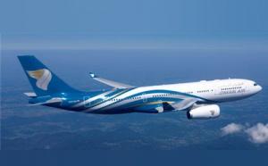Oman Air en état de marche à Paris
