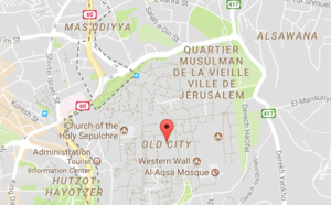 Israël : les accès à la Vieille ville de Jérusalem peuvent être fermés à tout moment