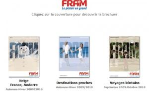 Brochuresenligne.com : arrivée de 4 nouvelles brochures Voyages FRAM