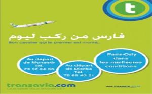 transavia.com annonce la Tunisie au départ de Lyon en 2010