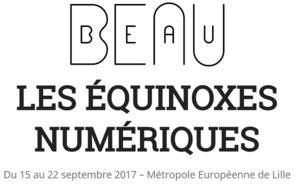 Lille accueille la 1ère édition de BEAU, le festival des arts numériques