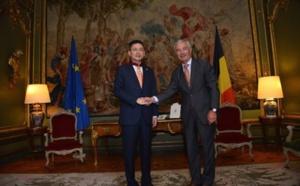 Adam Tan (HNA), nommé Commandeur de l'Ordre de la Couronne en Belgique