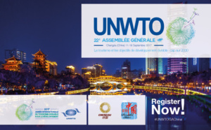 OMT : 22e assemblée générale en Chine du 11 au 16 septembre 2017