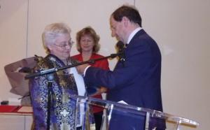 Annette Masson Officier dans l'Ordre National du Mérite