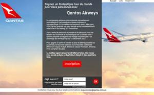 Challenge de ventes : Qantas fait gagner un tour du monde pour deux personnes