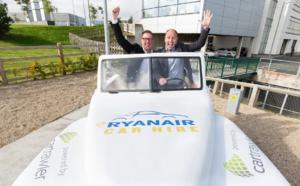 Location de voitures : Ryanair prolonge pour 2 ans avec CarTrawler