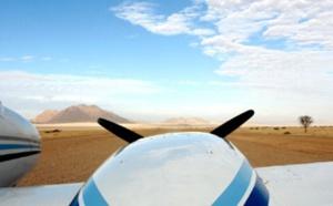 Terres de Charme met en vente un safari aérien en Afrique australe