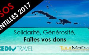 SOS Antilles 2017: le Cediv et TourMaG.com lancent un appel aux dons