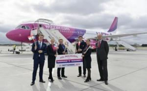 Wizz Air propose des vols hebdomadaires entre Bordeaux et Budapest